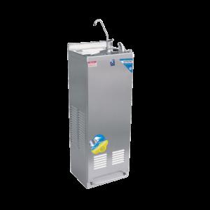 ตู้ทำน้ำเย็น มือกดเท้าเหยียบ มีงวง ระบายความร้อนด้วยรังผึ้ง รุ่น MC-6F