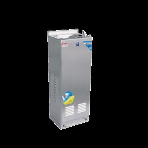 ตู้ทำน้ำเย็น มือกดเท้าเหยียบ ไม่มีงวง ระบายความร้อนด้วยรังผึ้ง รุ่น MC-6Fn