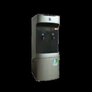 เครื่องกรองน้ำเย็น 2 ก๊อก ไฟเบอร์ มีระบบกรองน้ำในตัว รุ่น MC-FB2