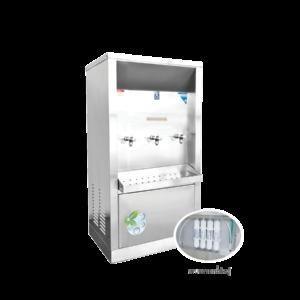 ตู้ทำน้ำเย็น 3 ก๊อก ระบบกรองน้ำในตัว ระบายความร้อนด้วยรังผึ้ง รุ่น XC-3PF