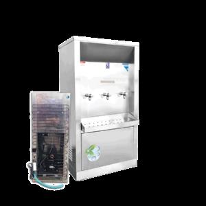 ตู้ทำน้ำเย็น 3 ก๊อก ระบายความร้อนด้วยแผงร้อน XC-3PW