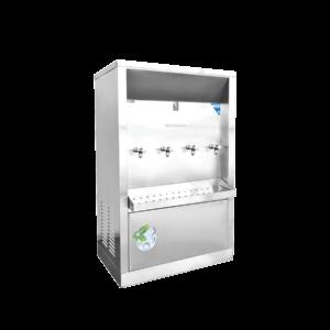 ตู้ทำน้ำเย็น 4 ก๊อก ระบายความร้อนด้วยรังผึ้ง XC-4P
