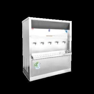 ตู้ทำน้ำเย็น 5 ก๊อก ระบายความร้อนด้วยรังผึ้ง XC-5P