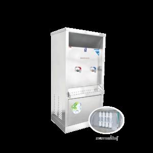 ตู้ทำน้ำร้อน น้ำเย็น 2 ก๊อก ระบบกรองน้ำในตัว ระบายความร้อนด้วยรังผึ้ง รุ่น XCH-2PF