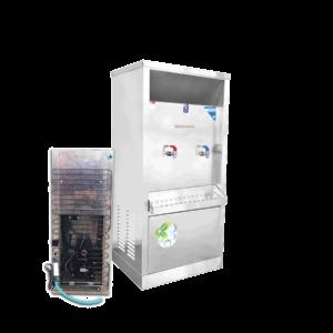 ตู้ทำน้ำร้อน น้ำเย็น 2 ก๊อก ระบายความร้อนด้วยแผงร้อน รุ่น XCH-2PW