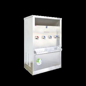 ตู้ทำน้ำร้อน น้ำเย็น 4 ก๊อก ระบายความร้อนด้วยรังผึ้ง รุ่น XCH-4P