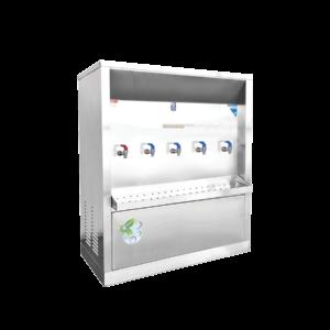 ตู้ทำน้ำร้อน น้ำเย็น 5 ก๊อก ระบายความร้อนด้วยรังผึ้ง รุ่น XCH-5P