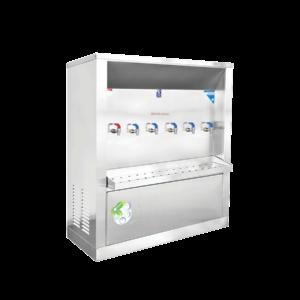 ตู้ทำน้ำร้อน น้ำเย็น 6 ก๊อก ระบายความร้อนด้วยรังผึ้ง รุ่น XCH-6P