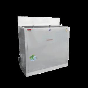 ตู้ทำน้ำเย็น 2 ก๊อก มือกด น้ำพุ ระบายความร้อนด้วยรังผึ้ง รุ่น MC-R2