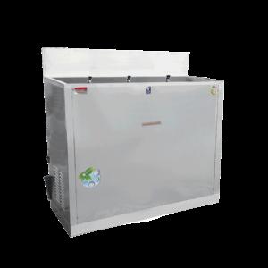 ตู้ทำน้ำเย็น 3 ก๊อก มือกด น้ำพุ ระบายความร้อนด้วยรังผึ้ง รุ่น MC-R3