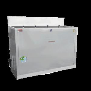 ตู้ทำน้ำเย็น 4 ก๊อก มือกด น้ำพุ ระบายความร้อนด้วยรังผึ้ง รุ่น MC-R4