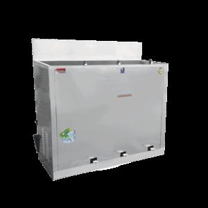 ตู้ทำน้ำเย็น 3 ก๊อก ก๊อกน้ำพุ เท้าเหยียบ ระบายความร้อนด้วยรังผึ้ง รุ่น MC-RF3