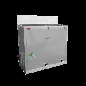 ตู้ทำน้ำเย็น 2 ก๊อก ก๊อกงวงช้าง เท้าเหยียบ ระบายความร้อนด้วยรังผึ้ง รุ่น MC-RFE2