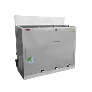 ตู้ทำน้ำเย็น 3 ก๊อก ก๊อกงวงช้าง เท้าเหยียบ ระบายความร้อนด้วยรังผึ้ง รุ่น MC-RFE3