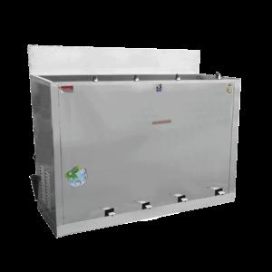 ตู้ทำน้ำเย็น 4 ก๊อก ก๊อกงวงช้าง เท้าเหยียบ ระบายความร้อนด้วยรังผึ้ง รุ่น MC-RFE4